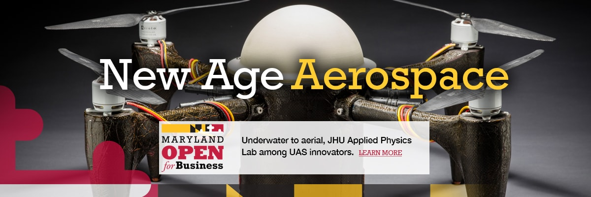 Underwater to Aerial, JHU Applied Physics Lab among UAV innovators.