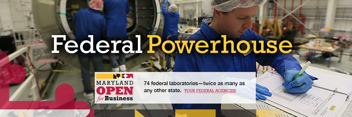 Federal Powerhouse - 74 federal laboratories - twice as many as any other state. Tour federal agencies.