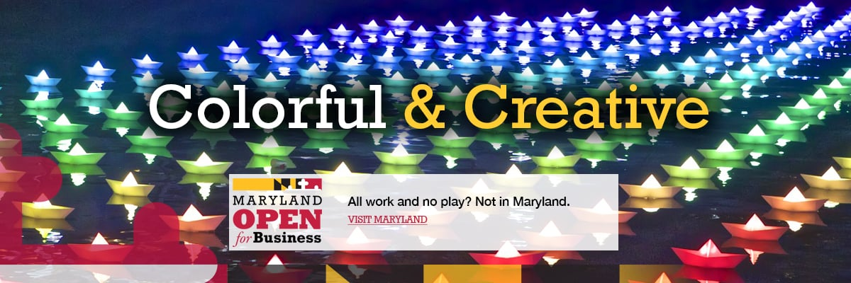 All work and no play? Not in Maryland. Visit Maryland.