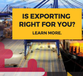 Is exporting right for you? Learn more.